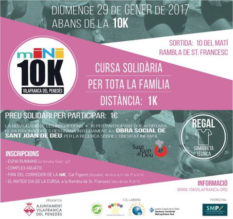 Cursa Solidaria Mini 10K