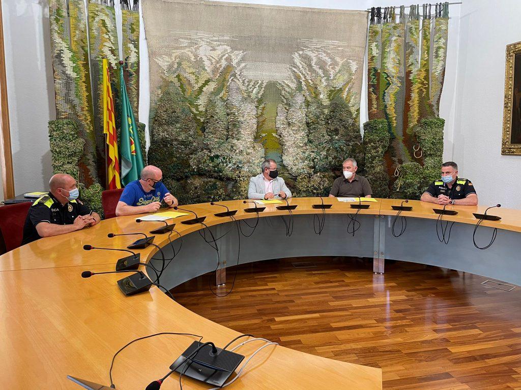 Signatura del conveni entre SMP i l'Ajuntament de Sant Sadurní
